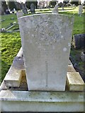 TQ3355 : Caterham Cemetery: CWGC grave (xiv) by Basher Eyre