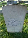 TQ3355 : Caterham Cemetery: memorial to a squadron leader by Basher Eyre