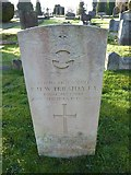 TQ3355 : Caterham Cemetery: CWGC grave (xxi) by Basher Eyre