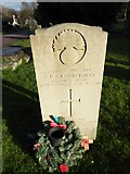 TQ3355 : Caterham Cemetery: grave of a guardsman (c) by Basher Eyre