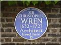 TQ1568 : Sir Christopher Wren by Colin Smith