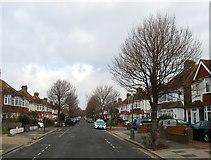 TQ2704 : Braemore Road, Aldrington, Hove by Simon Carey