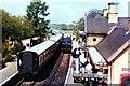 SO7679 : Two trains at Arley Station by Richard Hoare