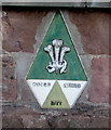 SO5012 : Prince of Wales Architecture Award plaque 1977, Monmouth by Jaggery