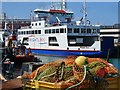 SZ6399 : Portsmouth Harbour - Wightlink by Colin Smith