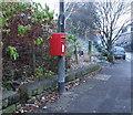 SD9126 : Elizabeth II postbox on Burnley Road, Vale by JThomas