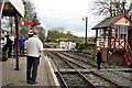 TQ8833 : Tenterden Town train station by Patrick Roper