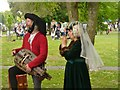 TQ0271 : Staines - Medieval Musicians by Colin Smith