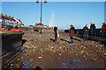 TA2047 : Tidal surge damage, Hornsea by Ian S
