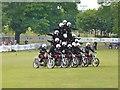 TQ0050 : Royal Signals Motorcycle Display Team by Colin Smith