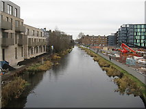 NT2472 : The Union Canal from Viewforth by M J Richardson