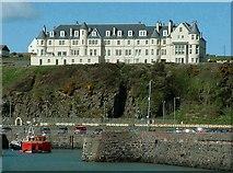 NW9954 : Portpatrick Hotel by Raibeart MacAoidh