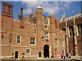 TQ1568 : Hampton Court Palace - Clock Court by Colin Smith