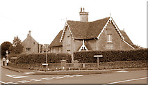 ST8080 : The Old School House, Acton Turville, Gloucestershire 2012 by Ray Bird