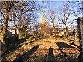 SJ9593 : Shadows at Hyde Chapel by Gerald England