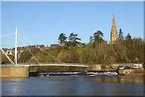 SX9192 : Miller's Crossing over River Exe by David Smith