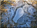 NY8240 : Ice patterns near Highwatch Currick by Mike Quinn