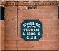 SJ9497 : Woodbine Terrace 1896 by Gerald England
