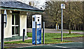 J4682 : E-car charging point, Crawfordsburn (January 2017) by Albert Bridge