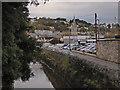 SX8671 : River Lemon, Newton Abbot by Chris Allen