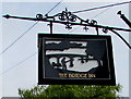 ST5394 : The Bridge Inn name sign, Chepstow by Jaggery