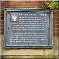 SD8901 : Failsworth Pole Plaque (West) by Gerald England