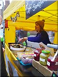 TQ2550 : Reigate Christmas Market by Colin Smith