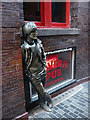 SJ3490 : The John Lennon statue, Mathew Street, Liverpool by Karl and Ali