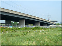 TQ4384 : Viaduct on North Circular Road by Robin Webster