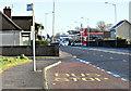J3986 : Bus stop, Carrickfergus (January 2017) by Albert Bridge