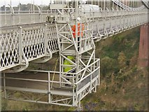 ST5673 : Clifton Suspension Bridge - Maintenance by Colin Smith