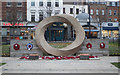 TQ3183 : War memorial, Islington Green by Julian Osley
