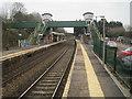 ST1479 : Llandaf railway station, Cardiff by Nigel Thompson