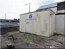 ST5394 : Chepstow North waste water pumping station by Jaggery