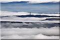 NT6526 : A misty Borders landscape by Walter Baxter