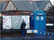 NS5667 : Police Box by Steve Houldsworth