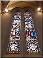 SU3645 : St Mary, Andover: stained glass window (d) by Basher Eyre