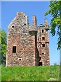 NT6342 : Greenknowe Tower by Colin Smith