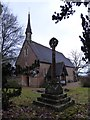 TQ0241 : St Andrew Grafham: early February 2017 by Basher Eyre