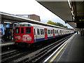 TQ1588 : Baker Street train at Harrow-on-the-Hill by Richard Vince
