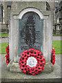 TQ3276 : Memorial to the First Surrey Rifles, St Giles' churchyard, Camberwell Church Street, London by Robin Stott
