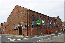 SE2932 : Matthew Murray House, #97 Water Lane at David Street junction by Roger Templeman