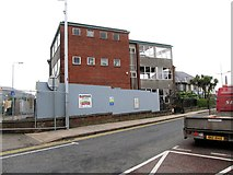 J3731 : Demolition of the B Block of the former SE Regional College at Newcastle by Eric Jones