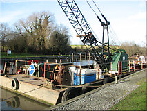TG3204 : Dredger at Rockland Dike by Evelyn Simak