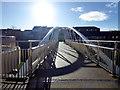 H4572 : Winter sun, Omagh by Kenneth  Allen