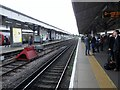 TQ2470 : Wimbledon Railway Station by Peter Holmes