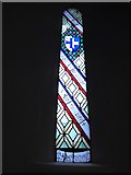 TQ0044 : Holy Trinity, Bramley: stained glass window (g) by Basher Eyre