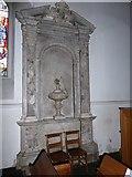 TQ0044 : Inside Holy Trinity, Bramley (X) by Basher Eyre
