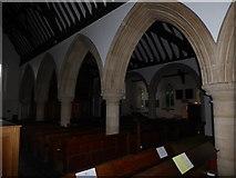 TQ0044 : Inside Holy Trinity, Bramley (XII) by Basher Eyre
