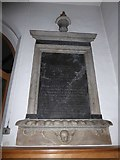 TQ0044 : Holy Trinity, Bramley: memorial (vi) by Basher Eyre